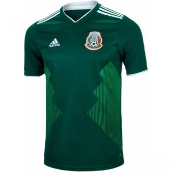 Adidas National Team 2018 Mexico (H) S/S Jersey BQ4701