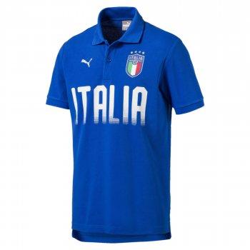Puma FIGC Italy 2018 Fanwear Polo - Blue 752614-01