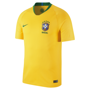 Nike National Team 2018 Brasil CBF (H) S/S VAPOR MATCH Jersey 893858-749