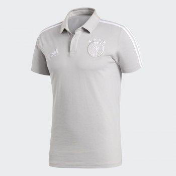 Adidas Germany 2018 Cotton Polo Shirt (Grey) CE6586