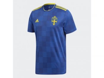 Adidas National Team 2018 World Cup Sweden (A) S/S Jersey BR3834