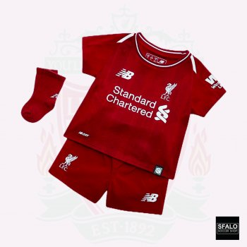 New Balance Liverpool 18/19 (H) Kid Set