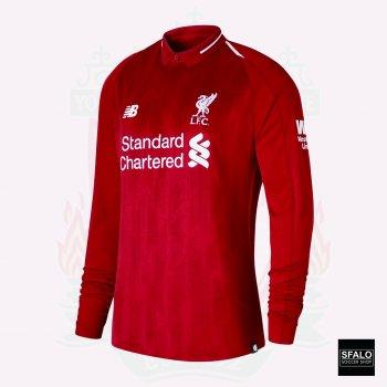 New Balance Liverpool 18/19 (H) L/S JSY