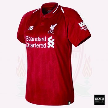 New Balance Liverpool 18/19 (H) S/S  Female JSY