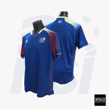 ERREA Iceland World Cup 2018 (H) SS JSY + Player number nameset
