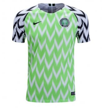 Nike National Team 2018 Nigeria (H) S/S Jersey 893886-100 with Player nameset