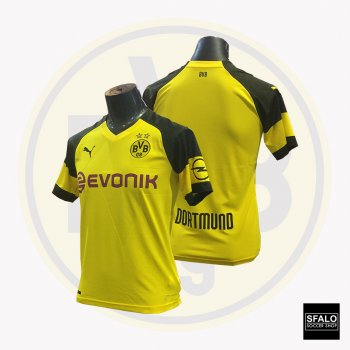 Puma Dortmund Home Shirt Replica 18/19 (H) S/S 753310-01