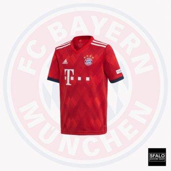 Adidas Bayern Munich 18/19 (H) (Youth) S/S Jersey CF5429