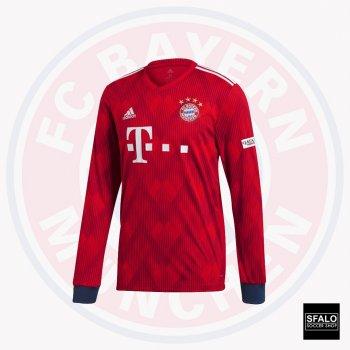 Adidas Bayern Munich 18/19 (H) L/S Jersey CF5430