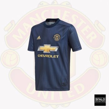 Adidas Manchester United 18/19 (3rd) (Youth) S/S Jersey DP6017