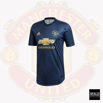 Adidas Manchester United 18/19 (3rd) S/S Authentic Jersey DP6021 (Optional:Club Nameset)