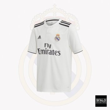 Adidas Real Madrid 18/19 (H) (Youth) S/S Jersey CG0554