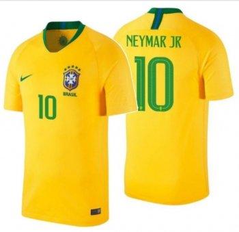 Nike Brasil 2018 (H) S/S Jersey 893856-749 with Nameset