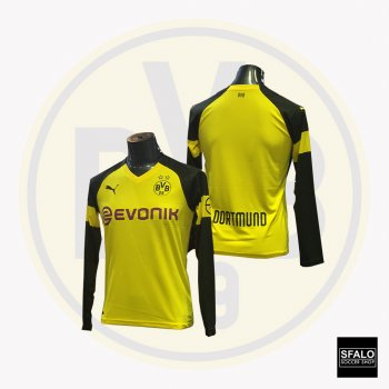 Puma Dortmund Home Shirt Replica 18/19 (H) L/S 753311-01