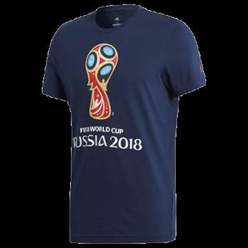 ADIDAS FIFA 2018WC EMBLEM TEE BLU CV6337