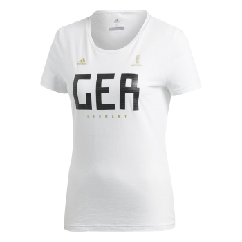 ADIDAS GERMANY WOMENS TEE CW2073