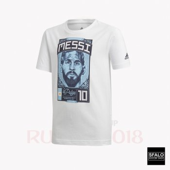 ADIDAS MESSI GRAPGIC JUNIOR TEE CW2143