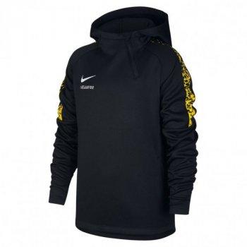 Nike NYR B NK THRMA ACDMY HOODIE QZ BLACK/BLA 925120-010