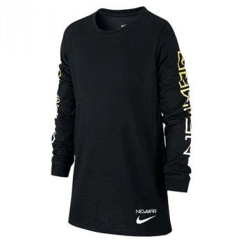 Nike NYR B NK DRY LS TEE BLACK 924385-010