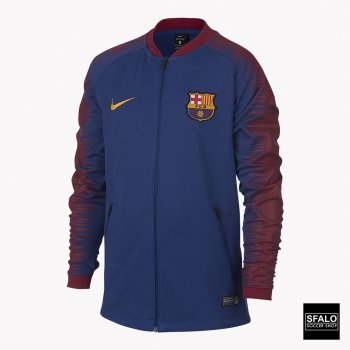 Nike FCB JUNIOR NK ANTHM FB JKT DEEP ROYAL BLUE/UN 894412-456