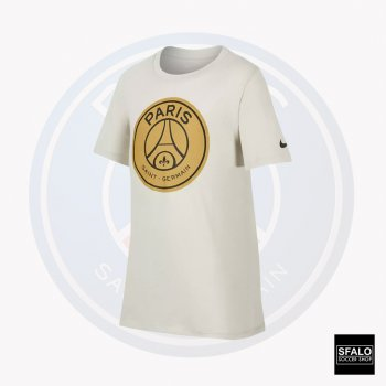 Nike PSG B NK TEE EVERGREEN CREST LIGHT BONE 898631-072