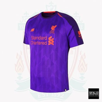 New Balance Liverpool 18/19 (A) S/S Jersey