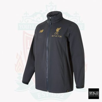 New Balance Liverpool FC 18/19 Managers Rain Jacket MJ831283 PHM
