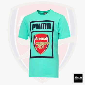 Puma Arsenal 18/19 Fan Tee Biscay Green 754152-14