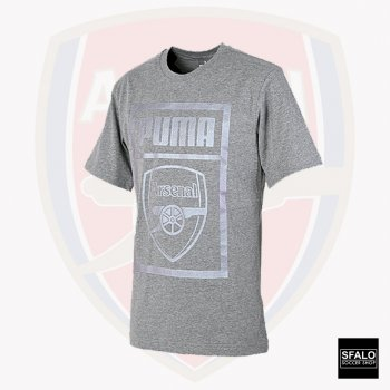 Puma Arsenal 18/19 Fan Tee Medium Grey Heather 754152-15
