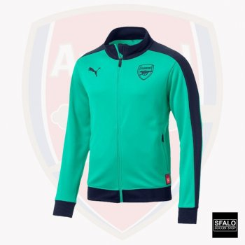 Puma Arsenal FC 18/19 Fan T7 Track Jacket - Biscay Green 754139-18