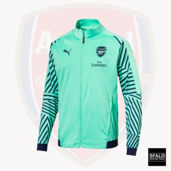 Puma Arsenal FC 18/19 Stadium Jacket - Biscay Green 753252-14