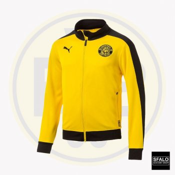 Puma BVB 18/19 T7 Track Jacket - Cyber Yellow 754101-01
