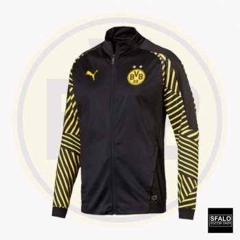 Puma BVB 18/19 Stadium Jacket Without Sponsor - Black 75335202