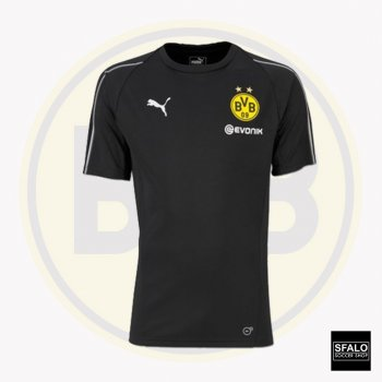 Puma BVB 18/19 Training Jersey With Sponsor - Black 753358-02