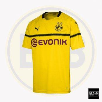 Puma Dortmund Cup Shirt Replica 18/19 (H) S/S 753322-11 w/ Club Nameset