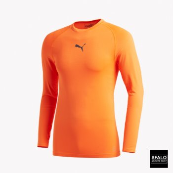 PUMA ftblNXT Baselayer L/S - Orange 655808-02
