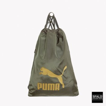 Puma Original Gym Sack - Forest Night/Gold 074812-10