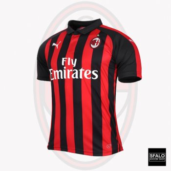 Puma AC Milan 18/19 (H) S/S Jersey Slim Fit Version 754750-06