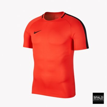 Nike Youths Dry Academy Top SS Light Crimson/Black/Black 832969-696