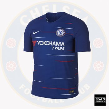 Nike Chelsea 18/19 (H) Vapor Match Jersey SS w/PL Badge & Player Printing  918922-496