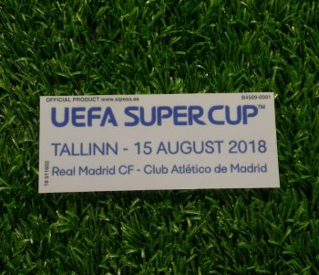 UEFA Super Cup 2018 Match Day Badge