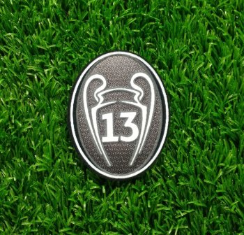 UEFA Champions League Trophy 13 Ver. Badge for Real Madrid