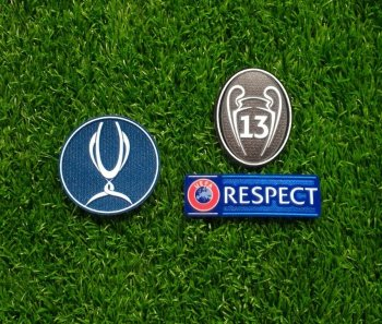 UEFA Super Cup 2018 Badge Combination for Real Madrid