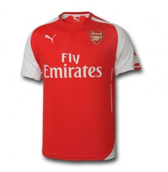 Puma Arsenal 14/15 (H) S/S with EPL Nameset & Badge 746446-01