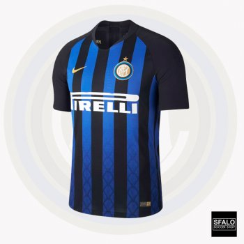 Nike Inter Milan 18/19 (H) Jersey S/S 918999-011 with Player Nameset