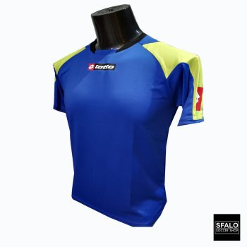 LOTTO Jersey Matrix Dazzling Blue/lime punch K1033