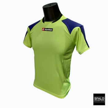 LOTTO Jersey Matrix Fluo Yellow/Electric Blue K1032