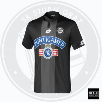 Lotto SK Sturm Graz 18/19 (Home) S/S T8400