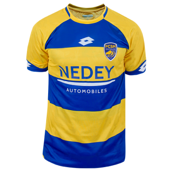 Lotto FC Sochaux-Montbéliard 18/19 (H) Jersey ( No Ligue 2 Badge and Small Sponsor) T8376