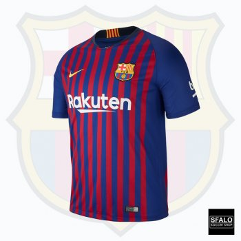 Nike FC Barcelona  18/19 (H) S/S Men's Jersey 894430-456 with Club Nameset